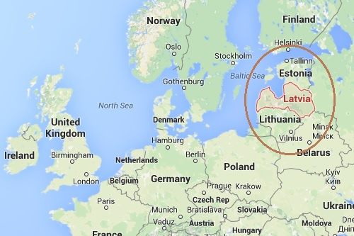Where Is Latvia On The World Map.Latvia Post 4 Location And Region World Culture Explorations